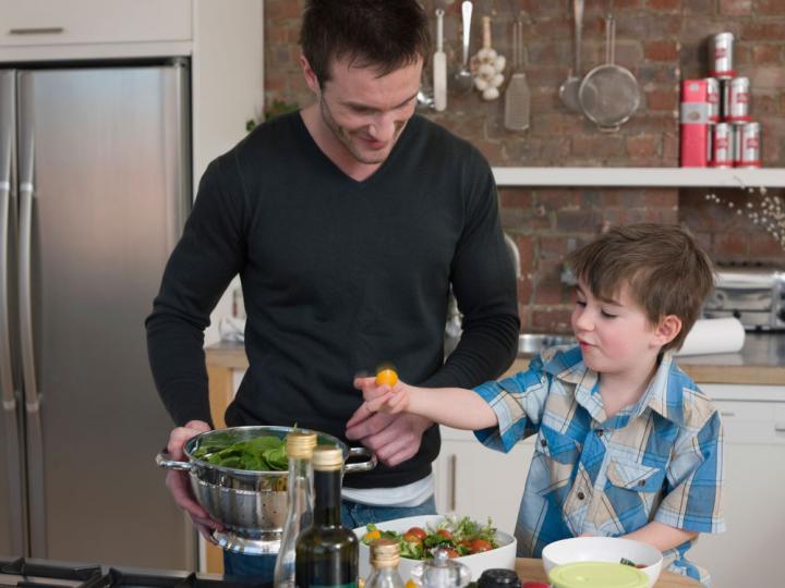 The secret to feeding fussy kids?