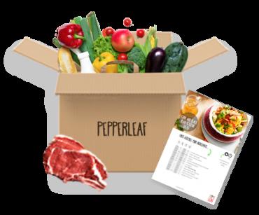 Pepper Leaf Meal Kit Classic Box